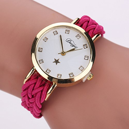 Zozmy Brazalete del Reloj de Diamantes de Las Mujeres Elegantes Acentuados Shinning Analógico de Cuarzo Relojes de Pulsera cristalina de la Manera Reloj Pulsera,B