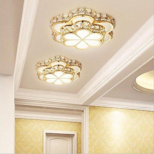 Luxe LED K9 kristallen plafond lichten LED lampen goud woonkamer LED plafond lampen High Power LED LED Light Light plafond lamp