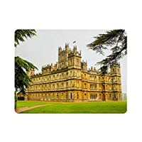 """Royaume-Uni Angleterre Highclere Castle (2) Nature Painting Vintage Home Decor, Wall Art Sign 15,7 """"x11.8"""" family cafe wall decoration, Retro Art Painting Iron Plate Poster Wall Decor.SIZE: Mesure environ 40 cm x 30 cm / 15,7 """"x11 .8 """".100% tout neuf..."""