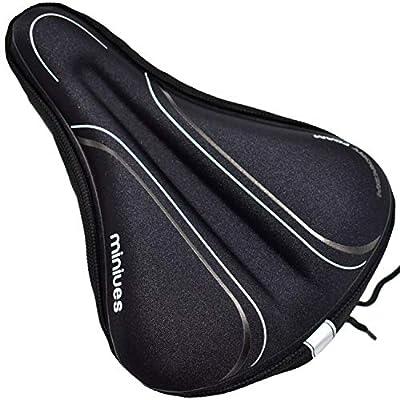 Bike Seat Cover Memory Foam Cushion for Women M...