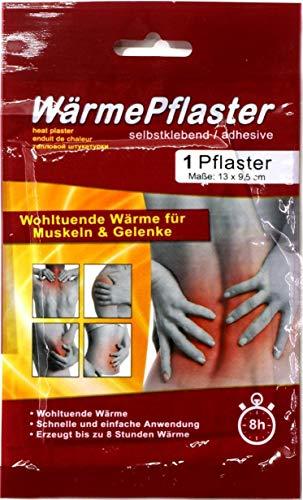 20er Set Wärmepflaster Wärmepad Rücken Nacken Wärmekissen Wärme Pflaster