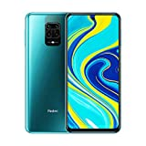 "Xiaomi Redmi Note 9S Smartphone, 6GB RAM 128GB ROM, 6.67"" Dot Drop Pantalla, Qualco mm Snapdragon 720G procesador, 48MP Cámara Cuádruple, Global Versión, Aurora Blue"