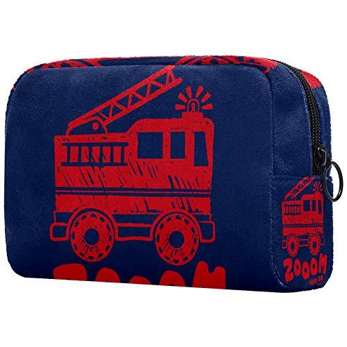 Bolsa de maquillaje personalizada para brochas de maquillaje, bolsa de aseo portátil para mujeres, bolso cosmético, organizador de viaje, zooom infantil