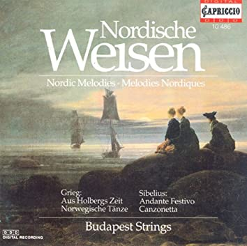 Grieg, E.: From Holberg's Time / 2 Nordic Melodies / Suite Champetre / Romance, Op. 42 (Nordic Melodies)