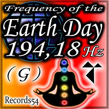 Frequency of the Earth Day: 194,18 Hz G