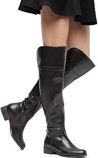 Bota Over The Knee Via Uno Feminina