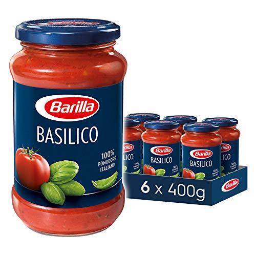 Barilla Pasta Sauce, Basilico, Tomato and Basil Pasta Sauce, Vegan,...