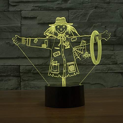 Straw Nachtlicht Lampe, Wizard of Oz, Nachtlicht, Touch-Tischlampe, Farbe, Kindergeschenk, Spielzeugdekoration