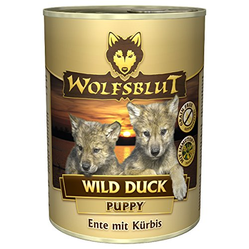 Wolfsblut Wild Duck Puppy Wet - 6 x 200 g