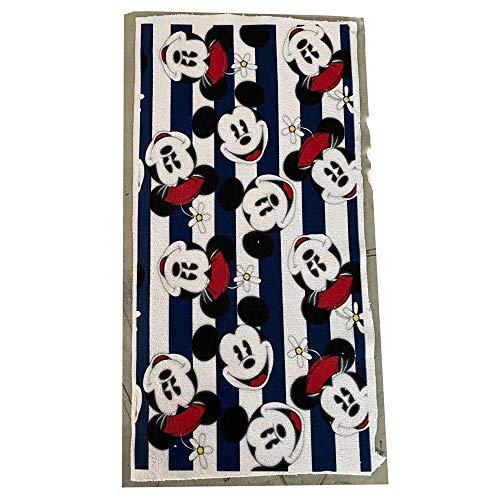 Mickey Minnie Mouse Pañuelo de algodón Toalla de bebé Toalla Absorbente de Viaje Toalla de Cara Suave para niños Regalo