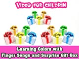 Learning Colors with Finger Songs and Surprise Gift Box