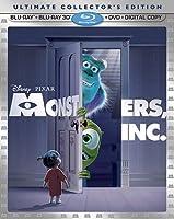 【モンスターズ・インク 3D】 Monsters, Inc. (Blu-ray 3D/Blu-ray/DVD Combo)