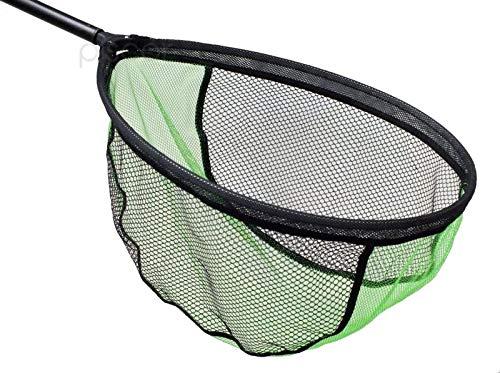 Maver Kescher für das Angeln Match Top Green Net 55x45 cm für Meer Fluss Forelle See