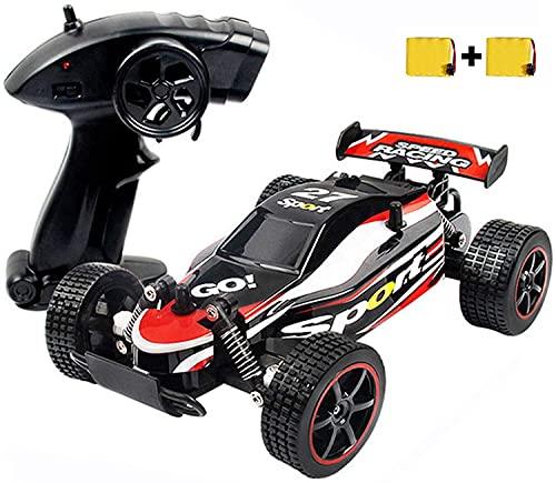 SZJJX Coche de control remoto de 20 km/h de alta velocidad RC Cars 2.4Ghz 1:20 Fast Racing Drifting Buggy Hobby Vehículo de coche eléctrico para niños niños niñas regalo (rojo)