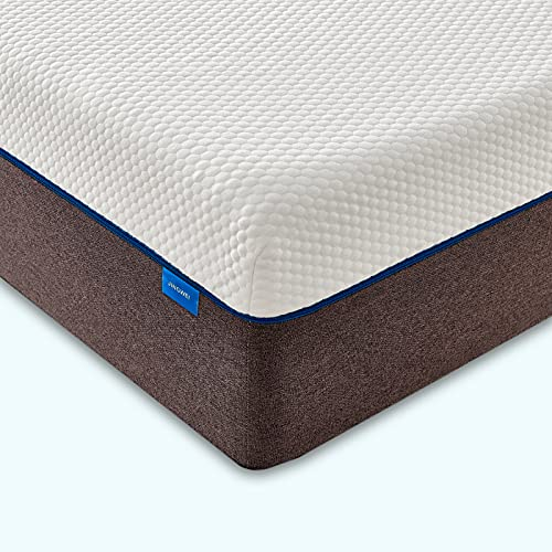 Jingxun King Size Mattress,5ft King Memory Foam Mattress,20CM Height,Medium Firm with Soft Fabric Skin-Friendly Fire Resistant Barrier for King Size Bed(150x200x20CM)