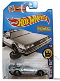 Hot Wheels, 2016 HW Screen Time, Back to the Future Time Machine - Hover Mode Die-Cast Vehicle #221/250