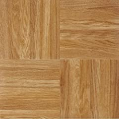 Easy do-it-yourself installation - just peel 'n' stick Stunning high Gloss, no wax finish 12 inch x 12 inch tile - 1. 2mm thick 20 square feet per box (20 tiles per box) 5 year limited warranty