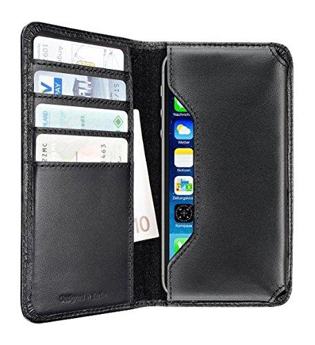 Artwizz 5507-1311 Universal Wallet Hülle (Geeignet für Smartphone bis 10 cm (4 Zoll)) schwarz