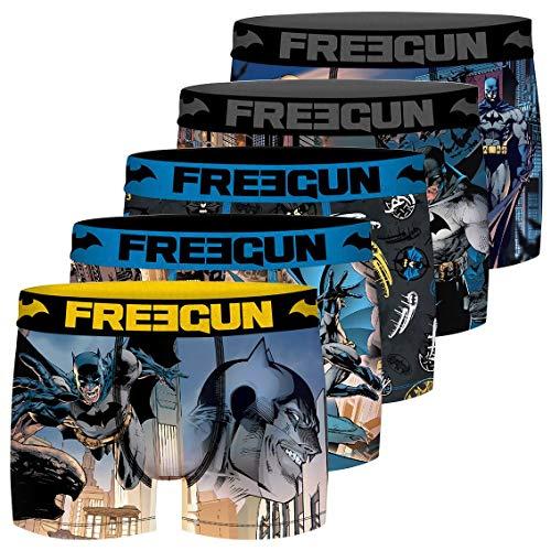 DC Comics Batman Boxershorts für Herren, 5 Stück Gr. XL, mehrfarbig