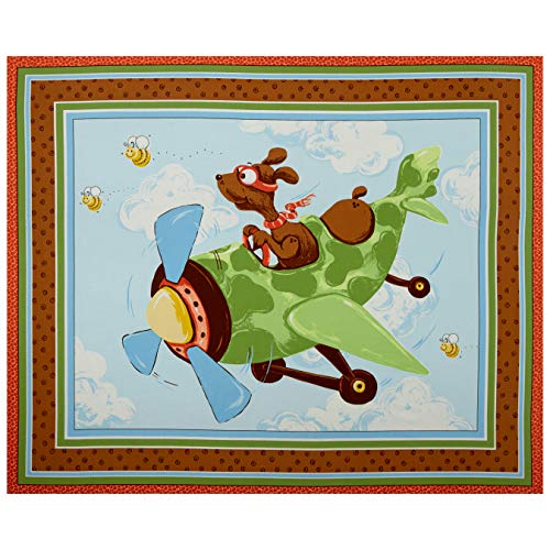 Susybee 0667899 Zig Flying Ace Dog Quilt & Play Mat 36