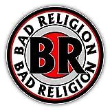 valstick Bad Religion Car Bumper Sticker Decal
