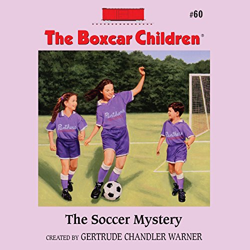 The Soccer Mystery audiobook cover art