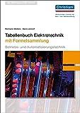 Tabellenbuch Elektrotechnik: mit Formelsammlung - Hans Lennert