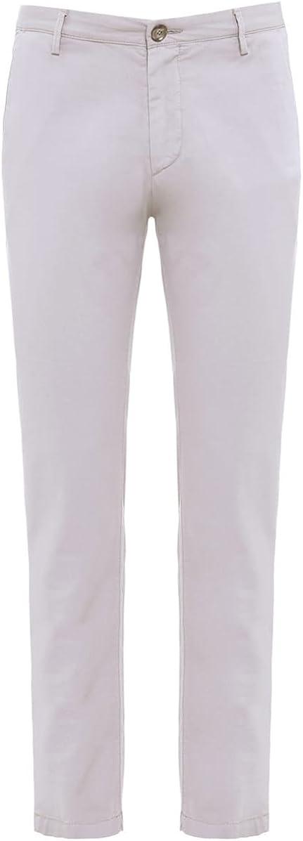 BOSS Men's Slim Fit Rice Trousers Open Beige 34