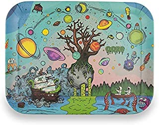 Ooze Biodegradable Rolling Tray TreeOfLife (Large 13