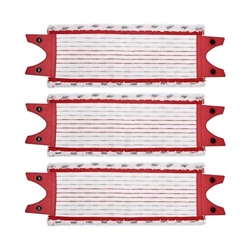 De Galen Recambios de microfibra para fregona de piso de repuesto para fregona Vileda UltraMax repuesto para fregona O Cedar accesorios de aspiradora