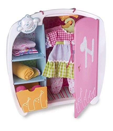 Nenuco de Famosa Armadio Accessori per Bambole, Multicolore, 700010346