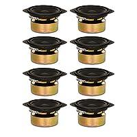 Goldwood Sound Inc. Stage Subwoofer Shielded 4 Woofers 70 Watt Each 8ohm Replacement 8 Speaker Set (GW-204/8S-8) [並行輸入品]