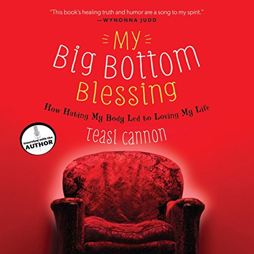 My Big Bottom Blessing audiobook cover art