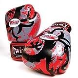 Twins Special Fancy Guantes de boxeo 100% Piel Vacuno Big Dragon 12onzas)
