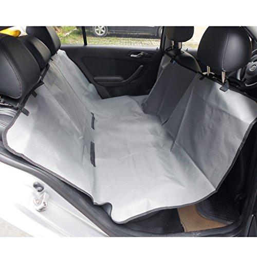 SymbolLife wasserdicht Auto-Abdeckung für Hunde Autositz Autositzdecke Hundedecke Autoschondecke für Katzen Hunde 140*145cm Khaki