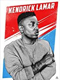 777 Tri-Seven Entertainment Kendrick Lamar Poster, 18 x 24