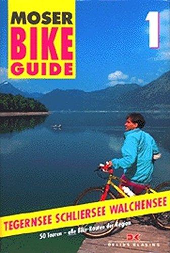 Bike Guide, Bd.1, Tegernsee, Schliersee, Walchensee