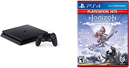 PlayStation 4 Slim 1TB Console Bundle with Horizon Zero Dawn Complete Edition Hits - PlayStation 4