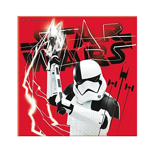 Tovaglioli Star Wars L'ultimo Jedi - 20 pezzi