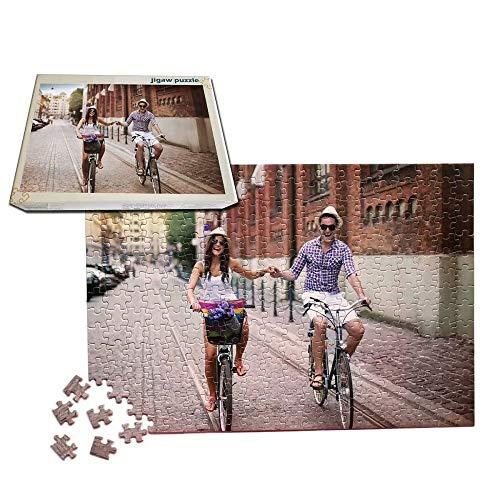 1000 stukjes aangepaste puzzel gepersonaliseerde puzzel met uw favoriete foto, fotopuzzel Home Decor DIY beste cadeau