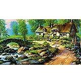 NOBRAND Children Puzzle Gifts Adulto Puzzle 1000 Pieces Landscape Pattern Jigsaw Puzzle Toy 1000PC Puzzle Educational Toys