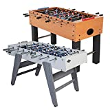 "American Legend Charger 52"" Foosball Table with Abacus-Style Scoring..."