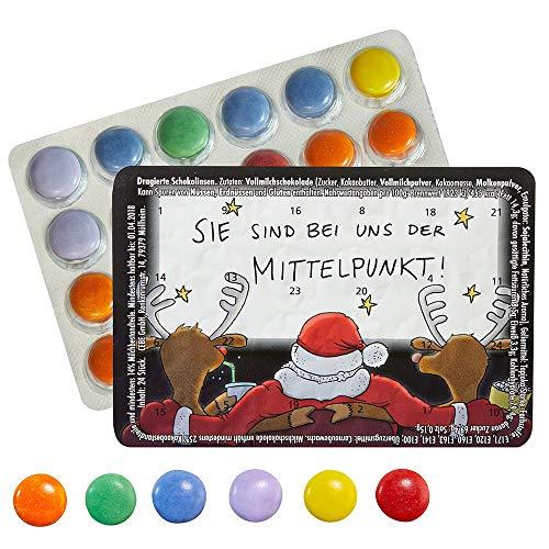Kleinster Adventskalender Piccolo Calendario dell'Avvento – Im Punto Centrale – Cioccolatini – con l'acquisto di 3 calendari Ci Sono i 4 Gratis.