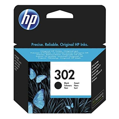 HP original - HP - Hewlett Packard DeskJet 1110 (302 / F6U66AE#301) - Tintenpatrone schwarz - 190 Seiten - 3,5ml