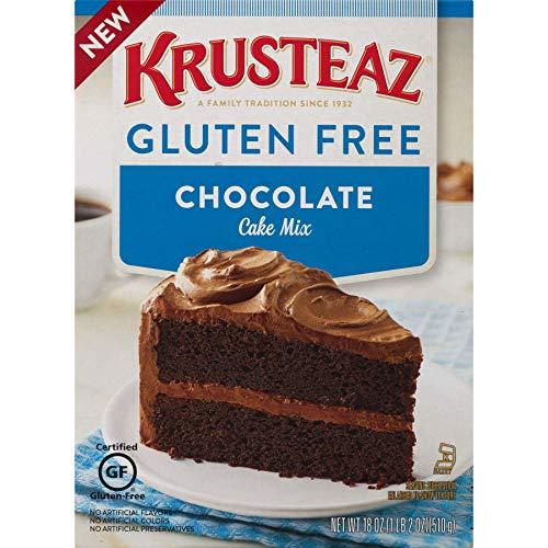 Krusteaz Gluten Free Chocolate Cake Mix 18 Ounce