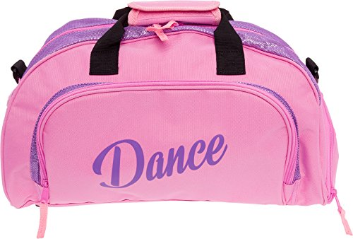 Silver Lilly Dance Sport Duffel Bag