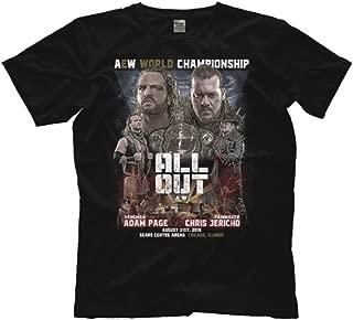 Licensed AEW Matchup Chris Jericho Hangman Adam Page All Elite Wrestling Tee