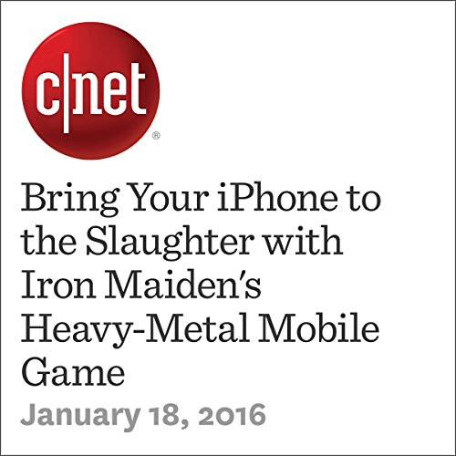 Bring Your iPhone to the Slaughter with Iron Maiden's Heavy-Metal Mobile Game cover art