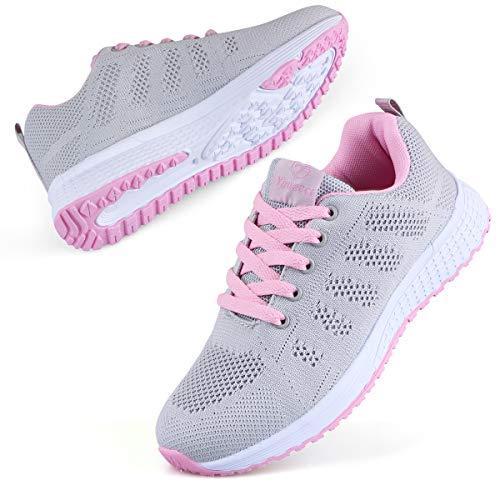 Youecci Femmes Baskets de Courses Running Chaussures de...