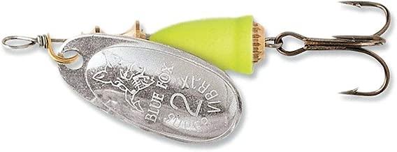 Blue Fox 60-20-112 0.18 oz. Super Vibrax Spinners - Silver Fluorescent Yellow